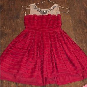 BCBG Maxazaria red dress